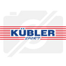 The Kübler Sport Volleyball OFFICIAL is available in size 4 and size 5. The Kübler Sport Volleyball OFFICIAL is an all-weather game and